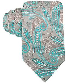 Geoffrey Beene Tie, Silverado Paisley - Ties - Men - Macy's... For the mister, of course.