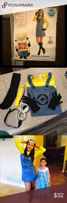 Despicable Me Costume for Halloween ❣❣ I love Minions.! Need to let it go,need to clean my closet. Very good condition. Smoke free. Dresses