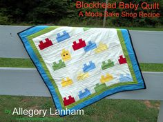 Blockhead Baby Quilt Tutorial (Moda Bake Shop)