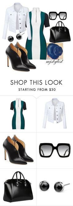 """Untitled #275"" by mjstylist ❤ liked on Polyvore featuring LE3NO, Chloe Gosselin, Gucci and Givenchy"
