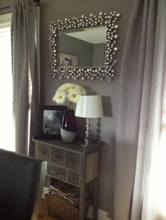 Gray Dining Room Glidden's Granite Gray  Before And After Cool Pier One Dining Room Ideas Design Inspiration