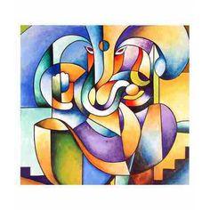 d3a72c4cd9 Imagini pentru abstract painting Pintura Ganesha