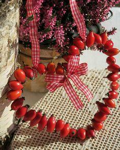 Šípkový věnec Jewellery Storage, Jewelry Organization, Christmas Wreaths, Christmas Decorations, Holiday Decor, Flower Factory, Valentine Crafts, Creative Crafts, Garden Art