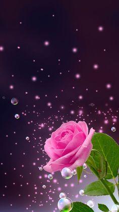 Hermosa Fantasia Flores H5 Fondos Para Teléfonos Móviles