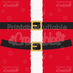 "YOU WILL RECEIVE: ""Santa's Belt"" SVG Cut File & Clipart includes: SVG cutting files – (separated layers for use with personal electronic cutting machines) Printable PDF assembly instructions for layering paper piecings SVG Print & Cut file (with cut lines already established – no tracing needed!) PNG preview image of completed designs PNG Clipart files …"