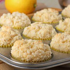 Lemon Crumb Muffins Recipe from Grandmother's Kitchen