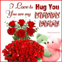 I love to hug you love friendship romantic love quote friend romance i love you