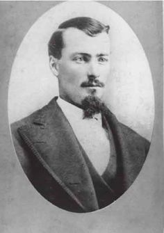 Frank Mclaury, cowboy, rancher, and cattle rustler. Shot and killed in the Gunfight at the O.K. Corral along with his brother Tom.