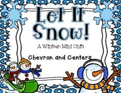I am honored and blessed to have reached 100 followers!!! To celebrate I am giving away this winter mini unit! This unit is full of fun wintery activities to get your kiddos back in the learning spirit after a long winter break!  This unit includes 5 literacy activities and 5 math activities.