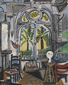 Pablo Picasso, 'The Studio' 1955