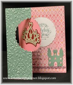 Krista's Crafty Corner: Princess Birthday Crown card - CTMH Artfully Sent