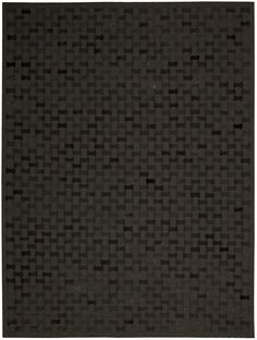 Joseph Abboud Chicago Black Area Rug By Nourison CHI01 BLK (Rectangle)