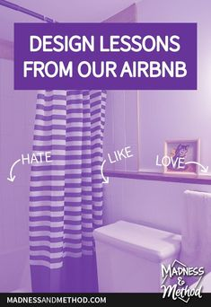 Want to renovate your space or set up an Airbnb rental? Check out these design lessons from our rental apartment to see what we'd change! Airbnb Rentals, Rental Apartments, Interior Design Inspiration, Home Renovation, Madness, Diy Projects, Change, Space, Check