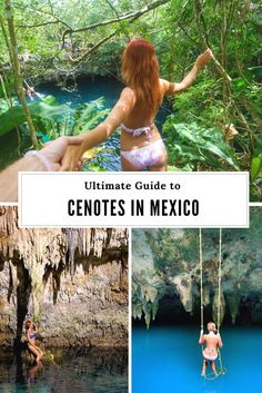 Ultimate Guide to Cenotes in Mexico. Travel in North America.