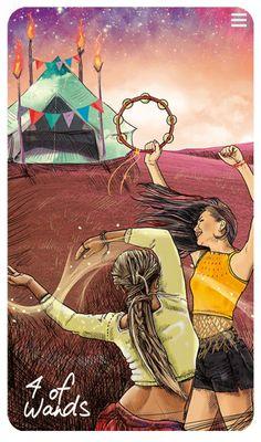 Light Seer's Tarot Meanings 4 of Wands – The Light Seer's Tarot // Chris-Anne // Tarot Cards and Meanings True Tarot, Tarot Significado, Tarot Card Meanings, Angel Cards, Tarot Spreads, Oracle Cards, Tarot Decks, Archetypes, Decks