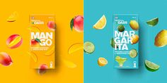 Identity revamping for the Tropical Oasis product range by Lassonde. This line of products, aimed specifically for bars and restaurants, is used to prepare Fruit Packaging, Cool Packaging, Beer Packaging, Food Packaging Design, Beverage Packaging, Packaging Design Inspiration, Brand Packaging, Branding Design, Product Packaging Design