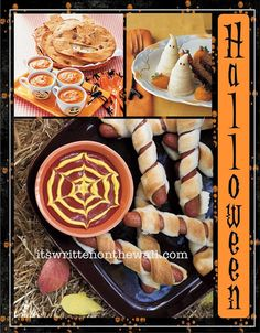 It's Written on the Wall: 39 Halloween Themed Dinners-Get All The Recipes!