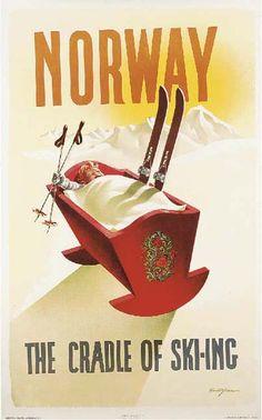 Norway, the cradle of skiing - 1955 - (Knut Yran) -