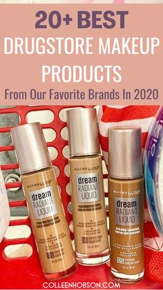 With so many amazing drugstore makeup products to choose from in 2020, here are top 3 picks from each of our favorite drugstore beauty brands for you to try out. #best #drugstore #makeup #products #brands