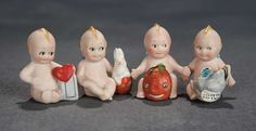 """""""The Voyage Continues"""" - Saturday, January 7, 2017: 114 Set of Four German All-Bisque Holiday Kewpies"""