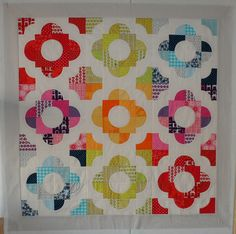2012-06-23 Drunkards Path Quilt Top by suleon, via Flickr