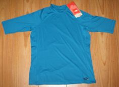 feb00c8a The North Face Rash Guard Shirt UPF 50 Royal Blue UV Protection L S XS NWT  Rash