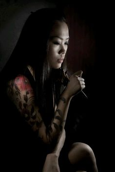 blooming sleeve . Joey Pang of Tattoo Temple