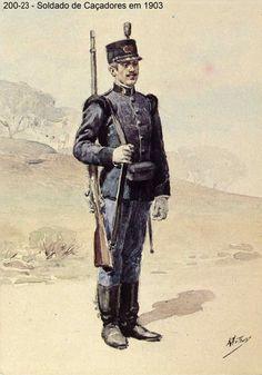 Infantry Caçadores Soldier - Portugal 1903