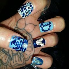 Pin for Later: Celebrate Disneyland's 60th Anniversary With Magical Manicures Sparkle and Shine