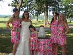 3 ways to style a lilly pulitzer wedding | Wedding styles, Weddings ...