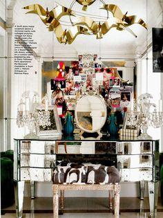 Trend Alert: Mirrored Furniture