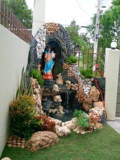 Como hacer un altar catolico en casa im genes buscar con - Fuentes para jardines pequenos ...