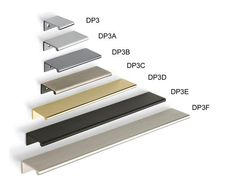 Doug Mockett & Company, Inc. - DP3 Series - Tab Drawer Pull.