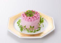 Delicia japonesa: estos hermosos pasteles de ensalada te van a enamorar