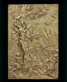 HEEMKUNDIGE SCHUTTERSKRING: Sint Sebastiaan (medaillons uit verschillende landen) (deels eigen)