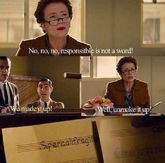 "Richard Sherman quickly hides sheet music to ""Supercalifragilisticexpialidocious."" - Saving Mr Banks"