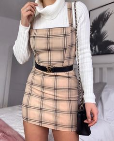"""9be64ff184b Kayleigh Johnson on Instagram  """"CLUELESS VIBES 💁🏼 ♀ how cute is this lil   isawitfirst pinafore dress ! 🙊 I m also loving the fact my LV belt is ..."""