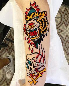  Book: javierrodrigueztattoo@gmail.com  #tattoo #sangbleulondon #traditionaltattoo #colourtattoo #javierrodrigueztattoo #dalstontattoo #sangbleutattoo Javier Rodriguez, Colour Tattoo, Traditional Tattoo, Tattoos, Blue, Tattoo Traditional, Tatuajes, Tattoo, Tattoo Old School