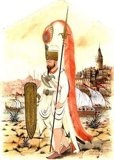 Taner Alakuş Empire Ottoman, Medieval Armor, Science Art, Military Art, Islamic Art, Indian Art, Archaeology, Portrait Art, Transformers