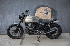 Moto Guzzi V7 2014 By Karoo Tailored Motorcycles