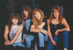 Megadeth (from Burrn! Metallica, Black Metal, Heavy Metal, Leidi Gaga, Nick Menza, Marty Friedman, David Ellefson, Dave Mustaine, Famous Musicians