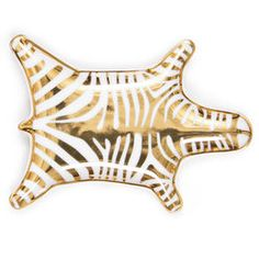 Gifts by Recipient - Gold Carnaby Zebra Stacking Dish