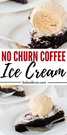 No Churn Coffee Ice Cream is the perfect at home ice cream that is loaded with sweet and flavorful coffee. Creamy, rich, and downright addictive. Give this no churn recipe a try. Ice Cream Toppings, Ice Cream Flavors, Ice Cream Recipes, Frozen Meals, Frozen Desserts, Easy Desserts, Sweet Desserts, Dessert Recipes, No Churn Ice Cream