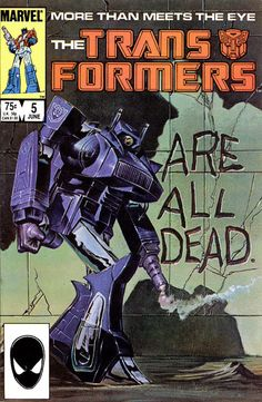 Transformers #5 by Mark Bright