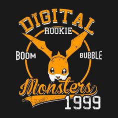 BOOM BUBBLE T-Shirt $12.99 Digimon tee at Pop Up Tee!
