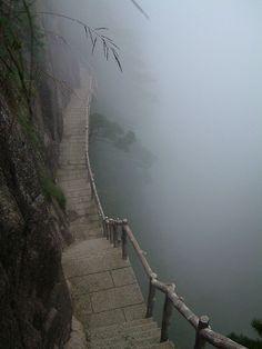 Path | 道路 | Chemin | путь | Sentiero | Camino | Dōro | Pasaje | проезд | Huangshan