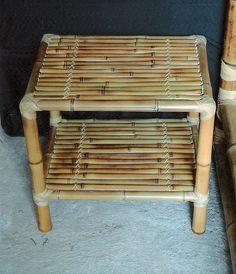 Bamboo Furniture, Home Decor Furniture, Furniture Design, Bamboo Shop, Bamboo House, Bamboo Crafts, Wooden Crafts, Rattan, Bamboo Construction