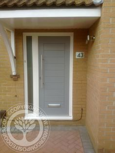 More great examples of fitted Solidor Composite doors by Timber Composite Doors, all available as for both DIY and Fully professionally fitted, design yours now online for free at the link below #solidor #compositedoors #timbercompositedoors #frontdoors