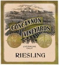 Wine Label - Concannon