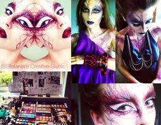 Fantasy theme make up for Avant guard Fairytale photoshoot
